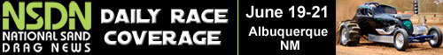 NSDN Daily Race Coverage Logo